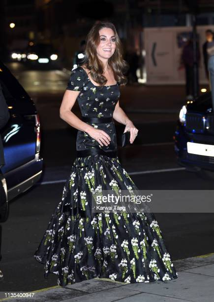 Catherine, Duchess of Cambridge attends the Portrait Gala 2019 at National Portrait Gallery on March 12, 2019 in London, England.