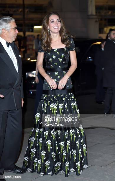 Catherine Duchess of Cambridge attends the Portrait Gala 2019 at National Portrait Gallery on March 12 2019 in London England