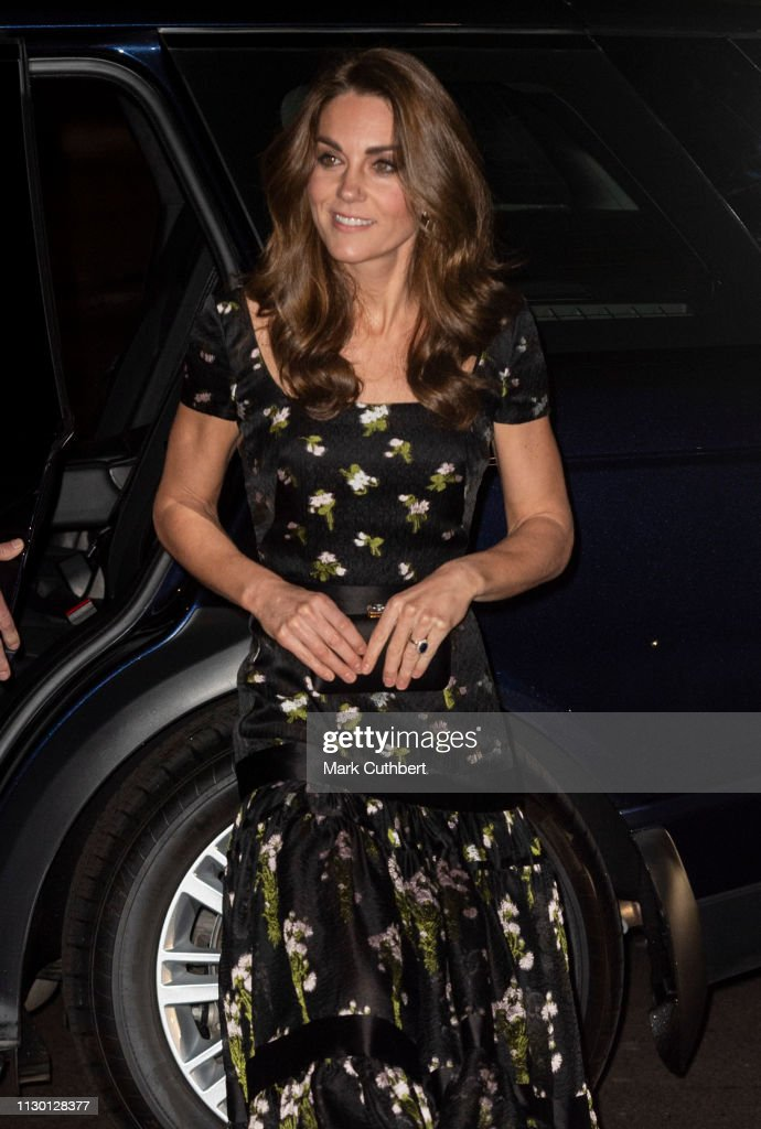 GBR: The Duchess Of Cambridge Attends The Portrait Gala 2019
