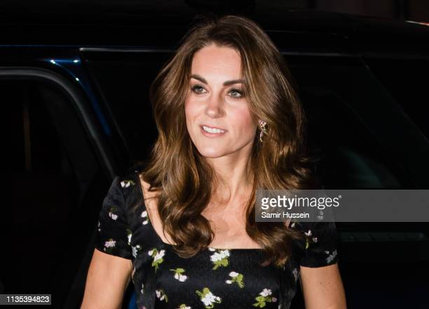 Catherine Duchess of Cambridge attends the Portrait Gala 2019 at the National Portrait Gallery on March 12 2019 in London England