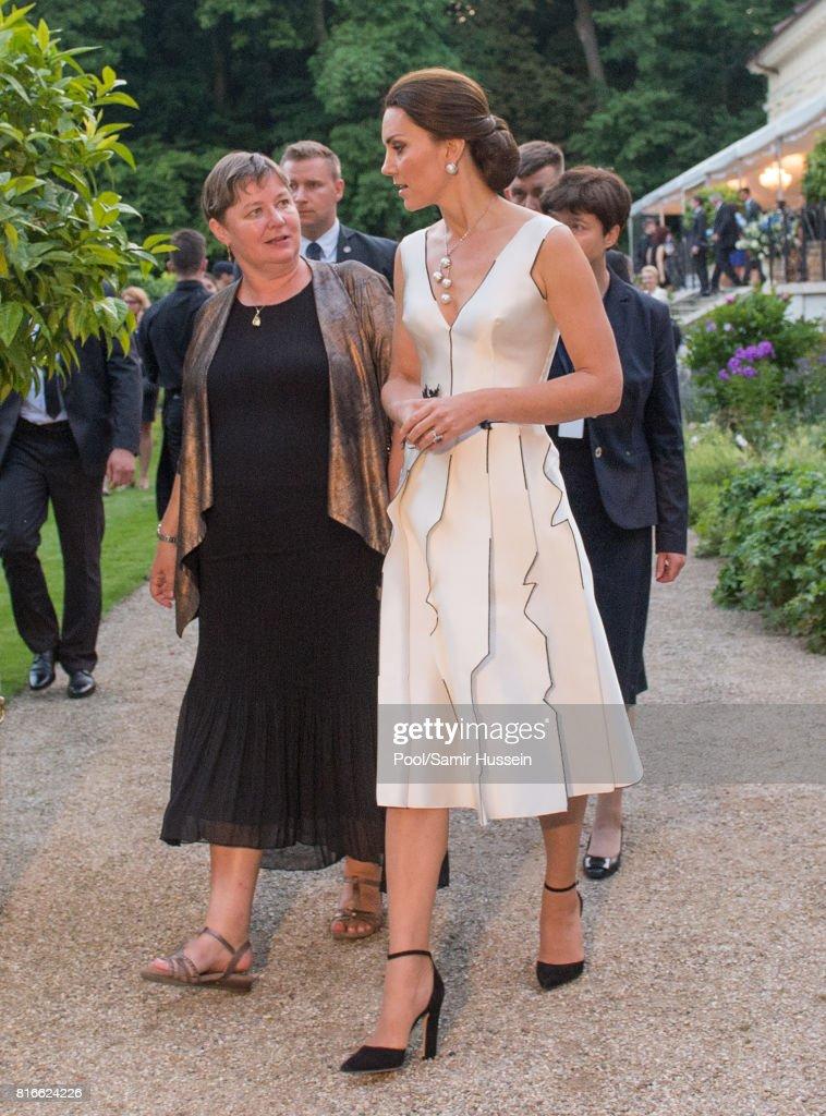 The Duke And Duchess Of Cambridge Visit Poland - Day 1 : News Photo
