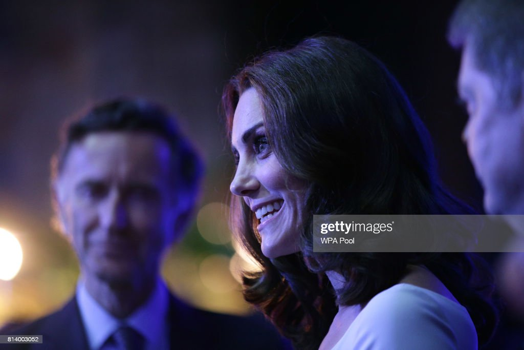 The Duchess Of Cambridge Attends Hintze Hall Launch Event