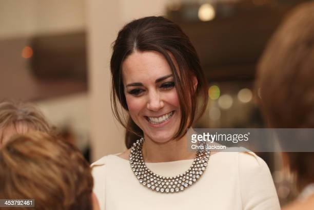 """Catherine, Duchess of Cambridge attends the Royal film performance of """"Mandela: Long Walk to Freedom"""" at Odeon Leicester Square on December 5, 2013..."""