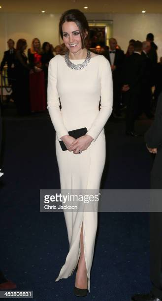 Catherine, Duchess of Cambridge attends the Royal film performance of 'Mandela: Long Walk to Freedom' at Odeon Leicester Square on December 5, 2013...