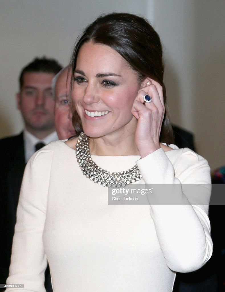 Catherine, Duchess of Cambridge attends the Royal film performance of 'Mandela: Long Walk to Freedom' at Odeon Leicester Square on December 5, 2013 in London, England.