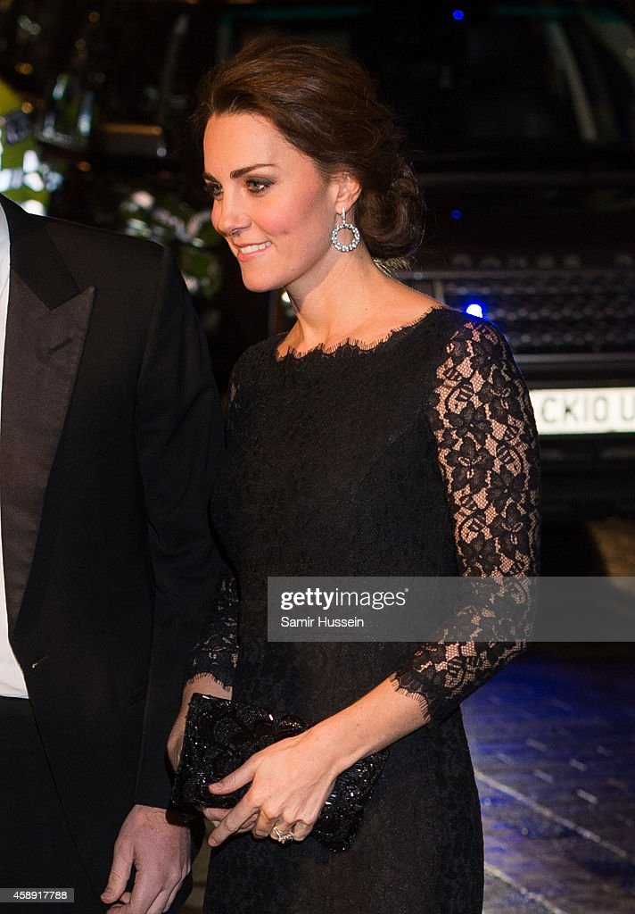 The Duke And Duchess Of Cambridge Attend The Royal Variety Performance : News Photo