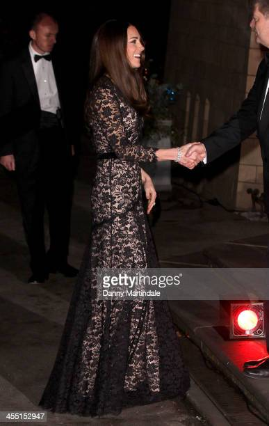 Catherine Duchess of Cambridge attends the screening of David Attenborough's 'Natural History Museum Alive 3D' at Natural History Museum on December...