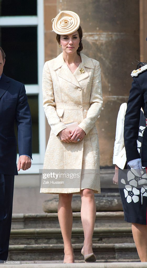 The Duke And Duchess Of Cambridge Attend The Secretary Of State For Northern Ireland's Garden Party : News Photo