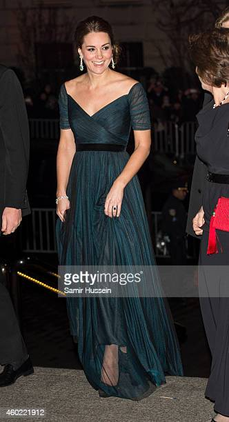Catherine Duchess of Cambridge attends the St Andrews 600th Anniversary Dinner on December 9 2014 in New York City