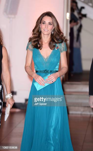 Catherine, Duchess of Cambridge attends The Tusk Conservation Awards at Banqueting House on November 08, 2018 in London, England.