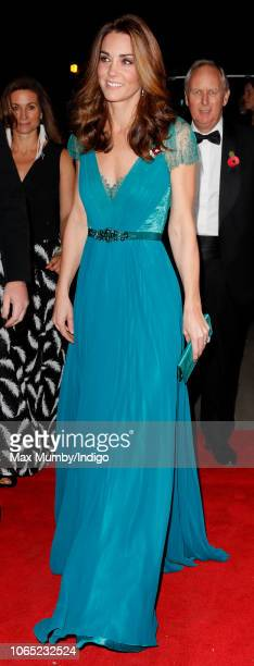 Catherine Duchess of Cambridge attends the Tusk Conservation Awards at Banqueting House on November 8 2018 in London England