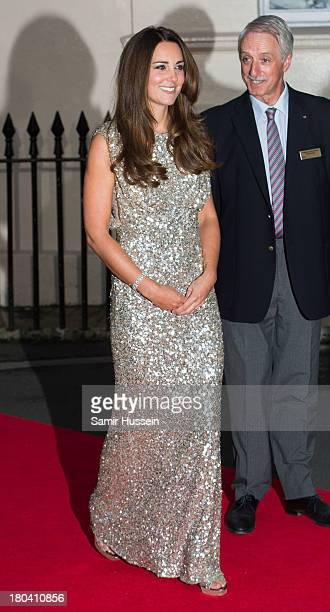 7354b1625b2 Catherine Duchess of Cambridge attends the Tusk Trust Conservation Awards  at The Royal Society on September