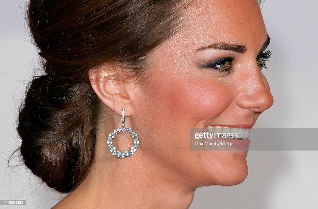 The Duchess Of Cambridge Attends The UK's Creative Industries Reception : News Photo