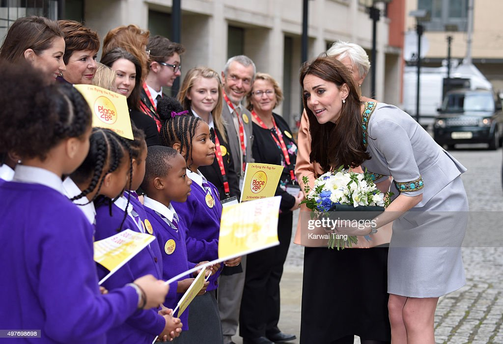 The Duchess Of Cambridge Attends Place2Be Headteacher Conference : News Photo