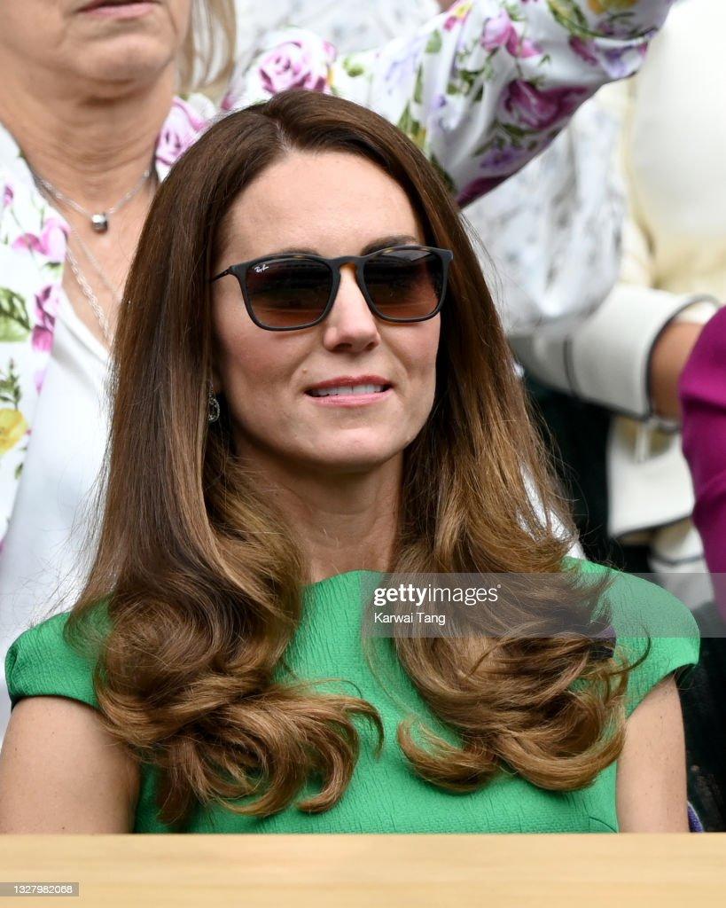 Wimbledon Celebrity Sightings - Day 12 : News Photo