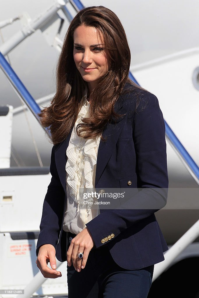 The Duke And Duchess Of Cambridge Canadian Tour - Day 7 : News Photo