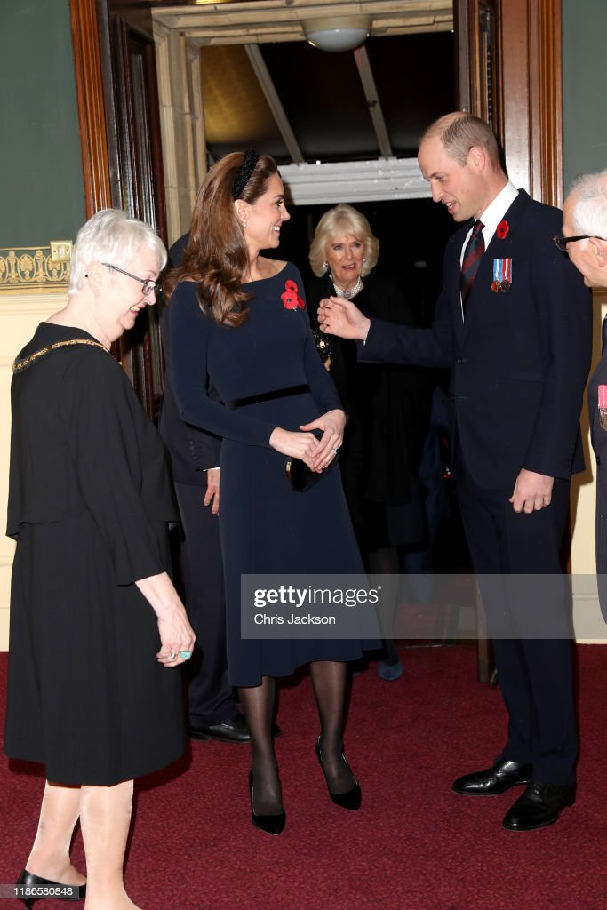 The Queen And Members Of The Royal Family Attend The Annual Royal British Legion Festival Of Remembrance : News Photo
