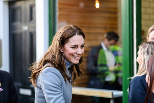GBR: The Duchess Of Cambridge Takes Landmark Early Years Survey To Scotland