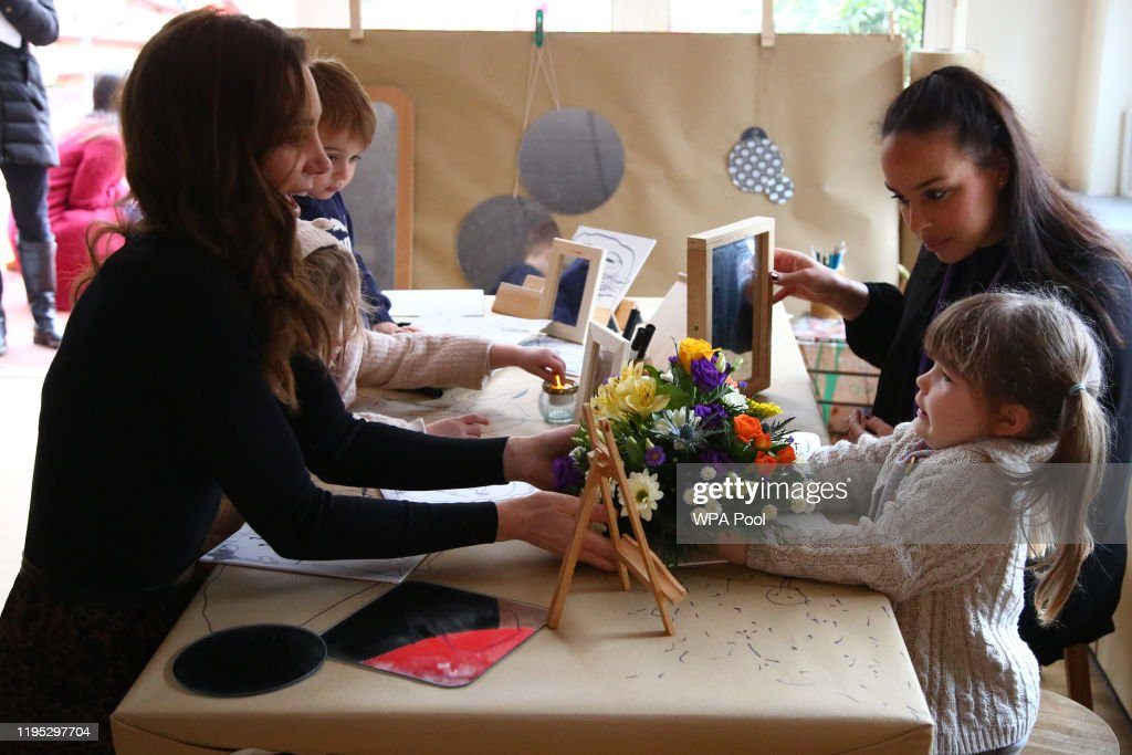 The Duchess Of Cambridge Launches Landmark UK-Wide Survey On Early Childhood - Day Two : ニュース写真