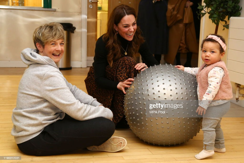 The Duchess Of Cambridge Launches Landmark UK-Wide Survey On Early Childhood - Day Two : News Photo