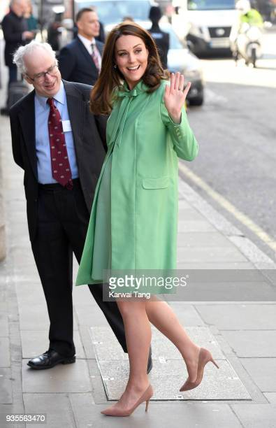Catherine Duchess of Cambridge convenes an early intervention for children and families symposium at Royal Society of Medicine on March 21 2018 in...