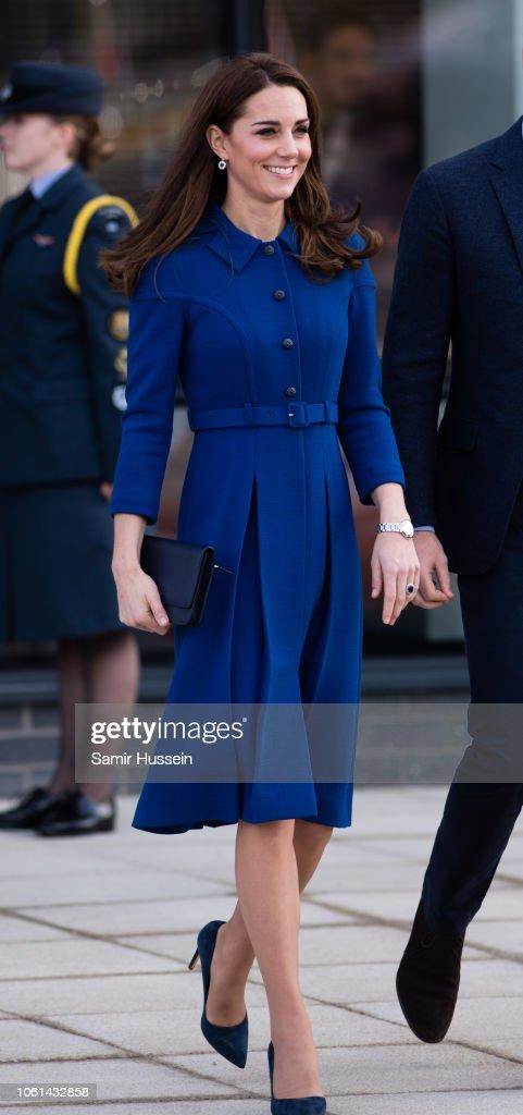 The Duke & Duchess Of Cambridge Visit South Yorkshire : News Photo
