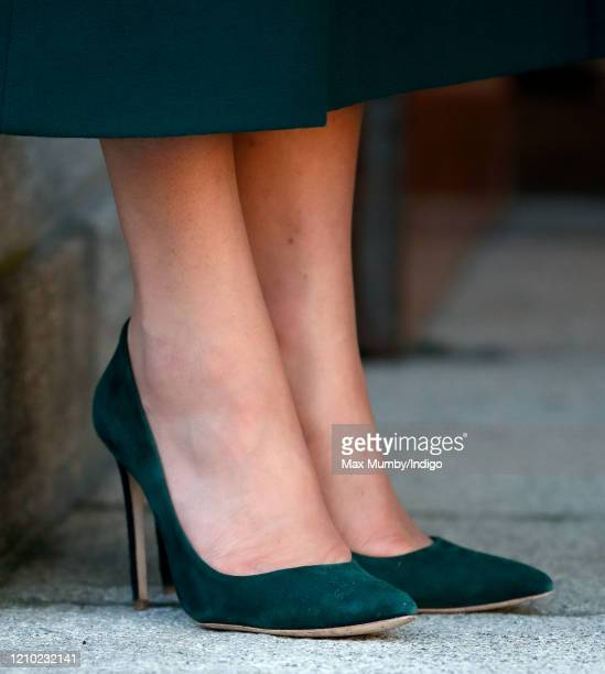 Catherine, Duchess of Cambridge departs Government Buildings after meeting Ireland's Taoiseach Leo Varadkar on March 3, 2020 in Dublin, Ireland. The...