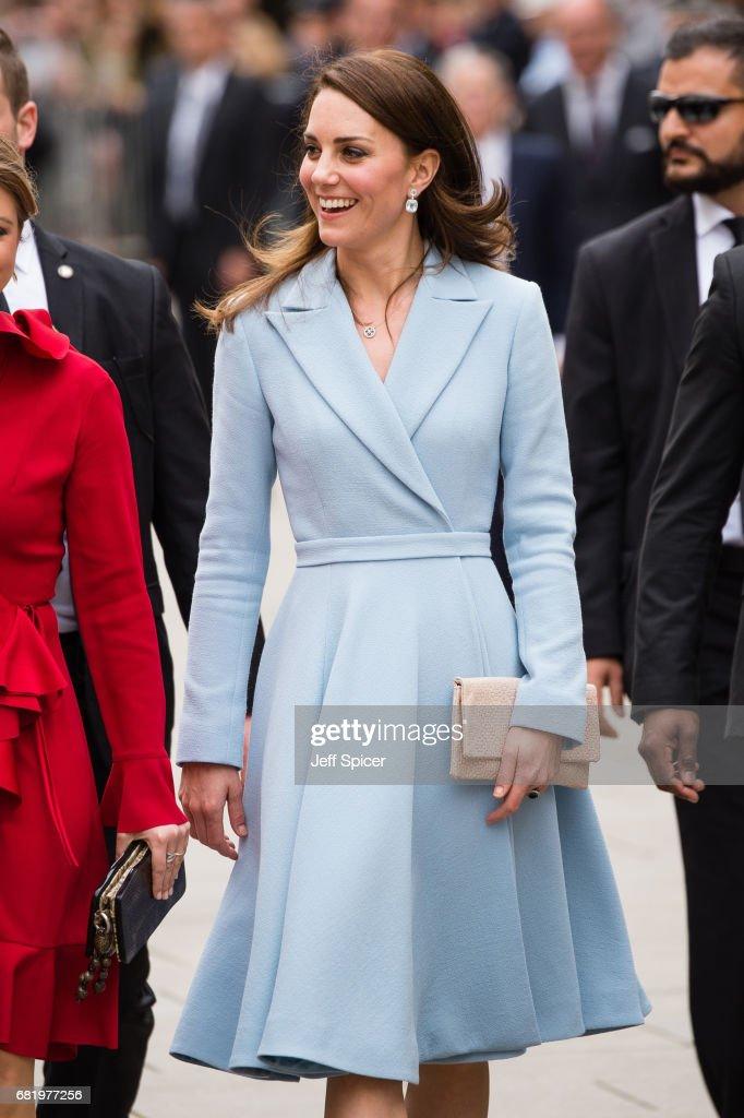 The Duchess Of Cambridge Visits Luxembourg : Fotografia de notícias