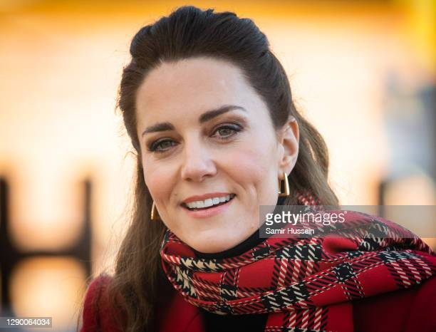 Catherine, Duchess of Cambridge during a visit to Cardiff Castle with Prince William, Duke of Cambridge on December 08, 2020 in Cardiff, Wales.