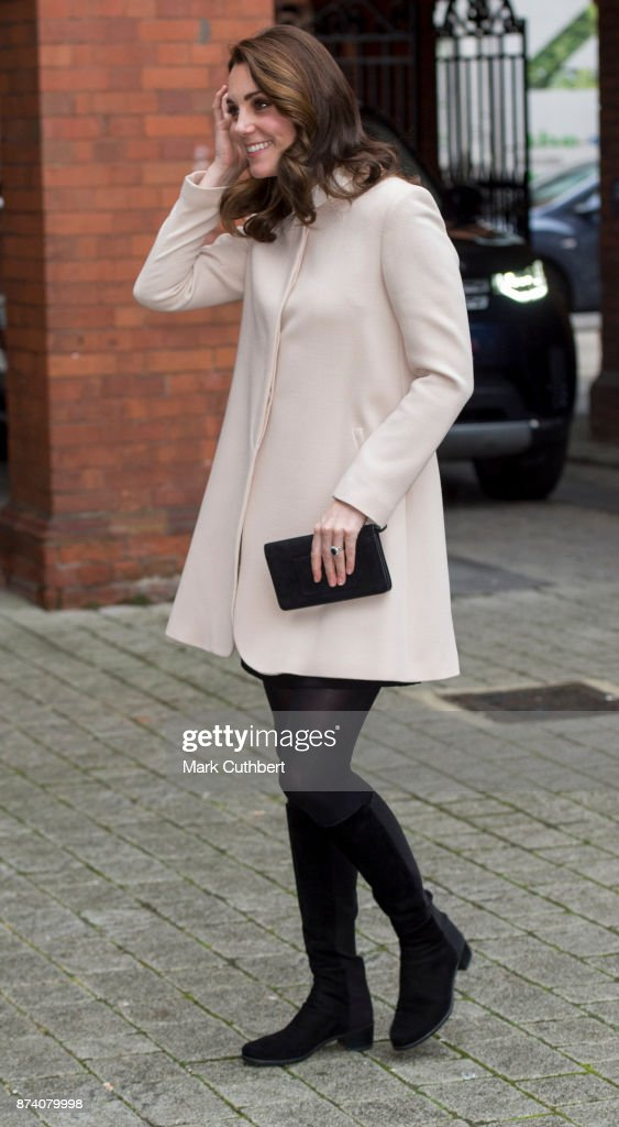 Catherine, Duchess of Cambridge during a visit to Hornsey Road Children's Centre on November 14, 2017 in London, England.