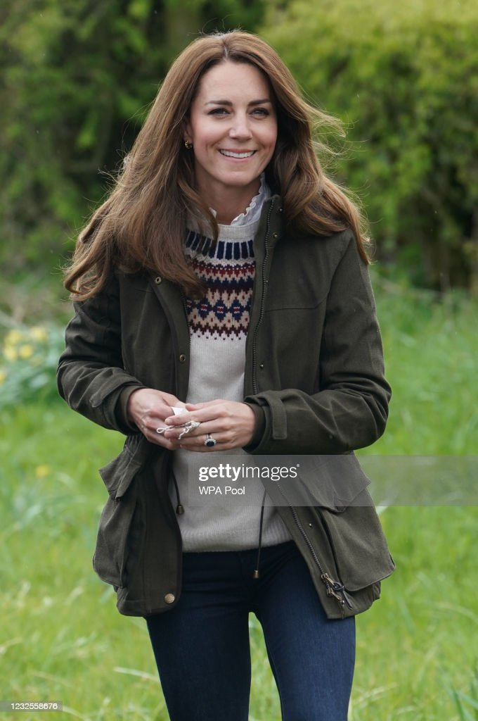 The Duke And Duchess Of Cambridge Visit County Durham : News Photo