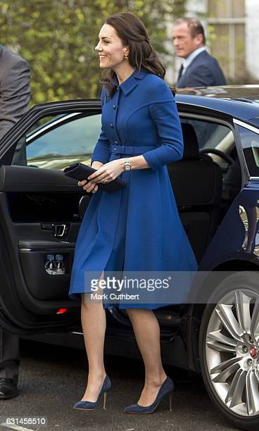 Catherine Duchess of Cambridge during a visit to the Anna Freud Centre on January 11 2017 in London England