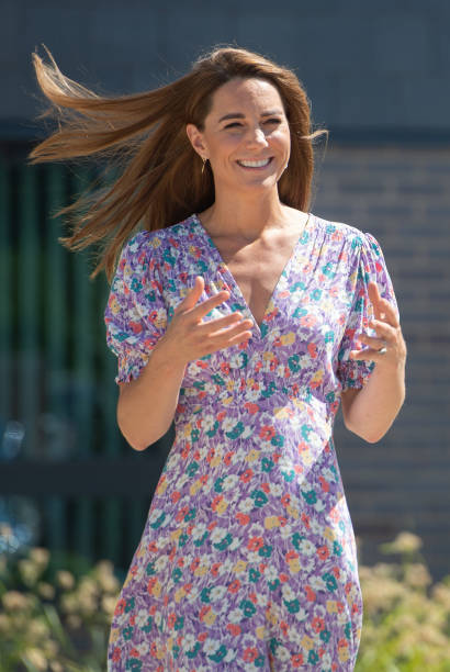 GBR: Duchess of Cambridge Delivers Plants To EACH Hospice