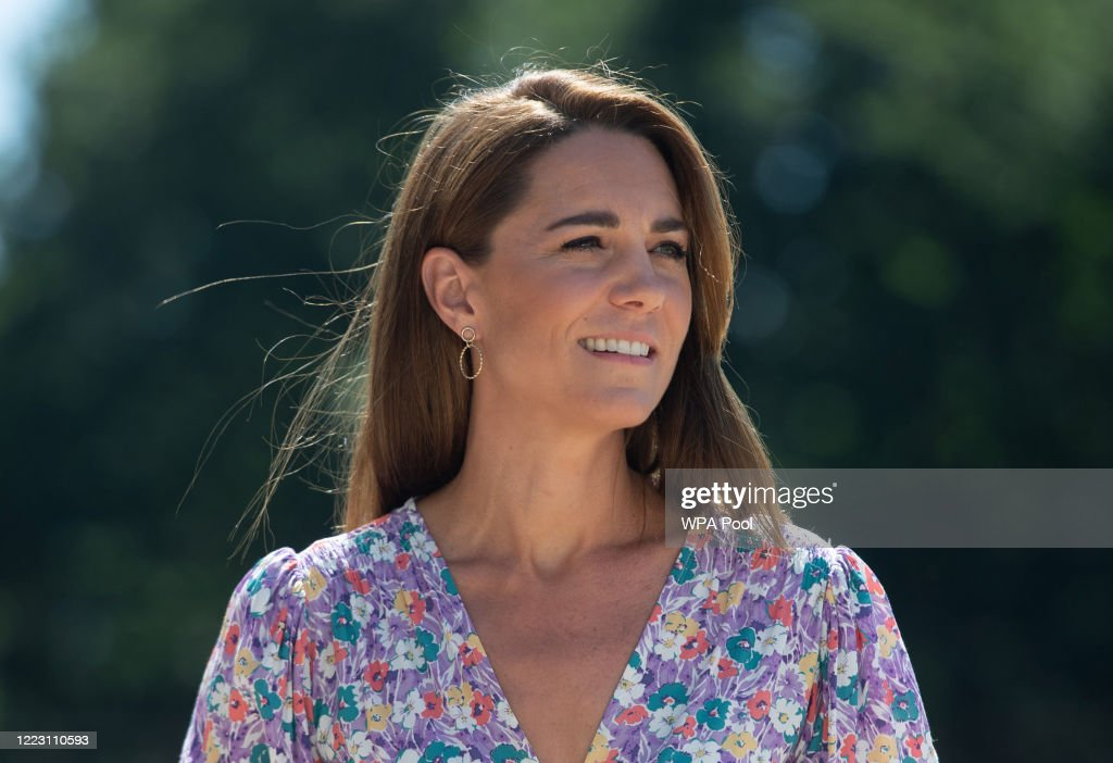 Duchess of Cambridge Delivers Plants To EACH Hospice : News Photo