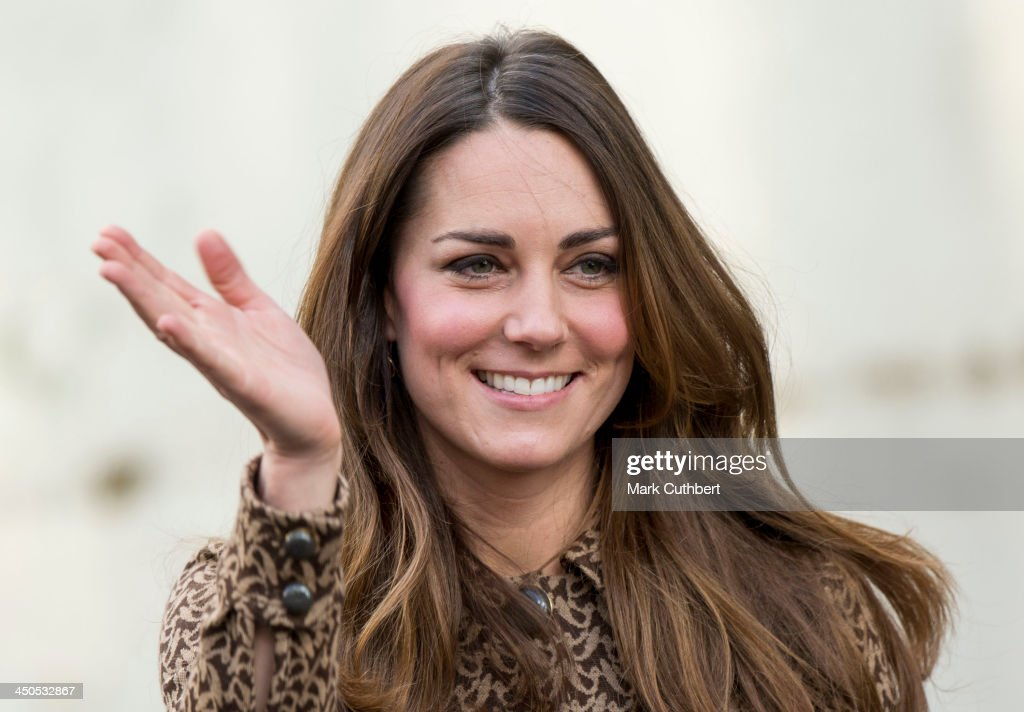Catherine, Duchess of Cambridge during a visit to the Only Connect and ex-offenders projects on November 19, 2013 in London, England.