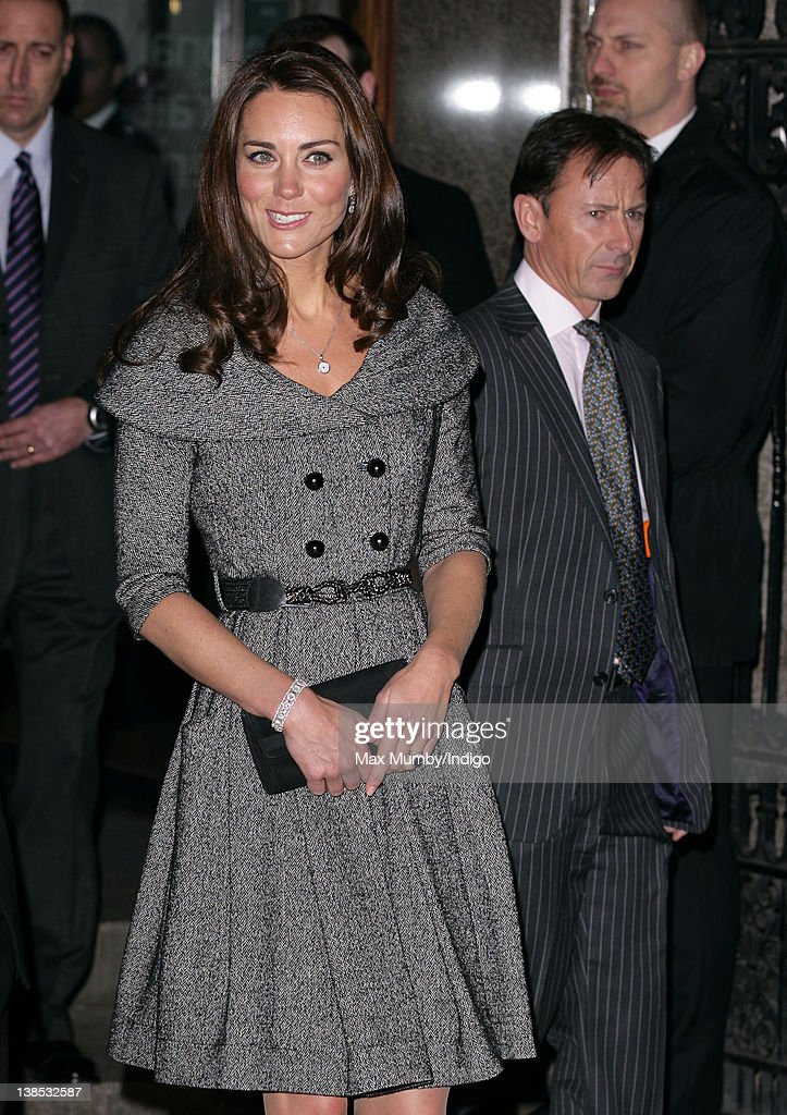 The Duchess Of Cambridge Visits The National Portrait Gallery : News Photo