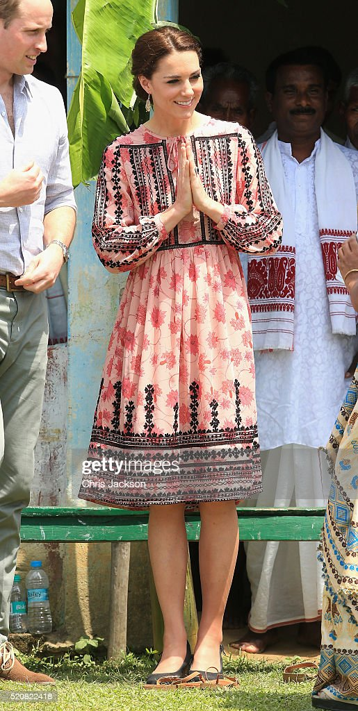 The Duke And Duchess Of Cambridge Visit India And Bhutan - Day 4 : News Photo