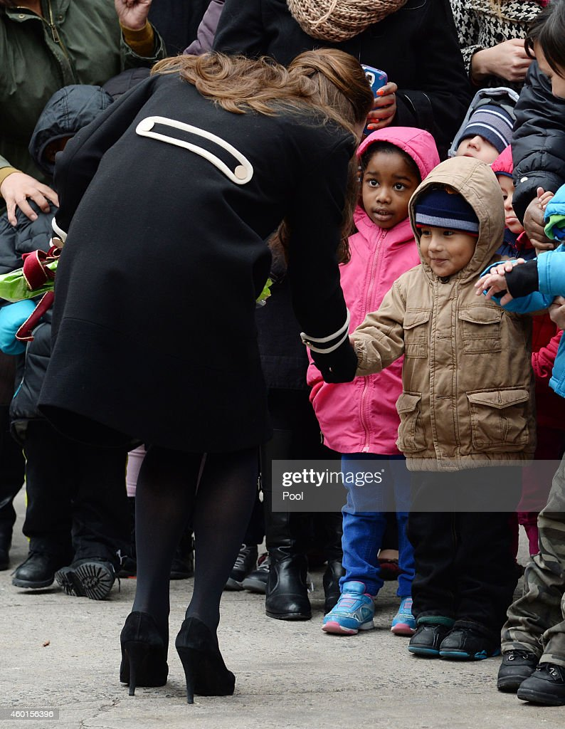The Duchess Of Cambridge And First Lady Of New York City Visit Northside Center For Child Development : ニュース写真