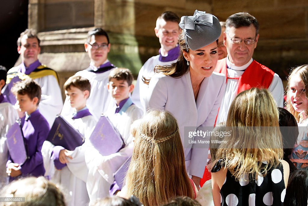 The Duke And Duchess Of Cambridge Tour Australia And New Zealand - Day 14 : News Photo