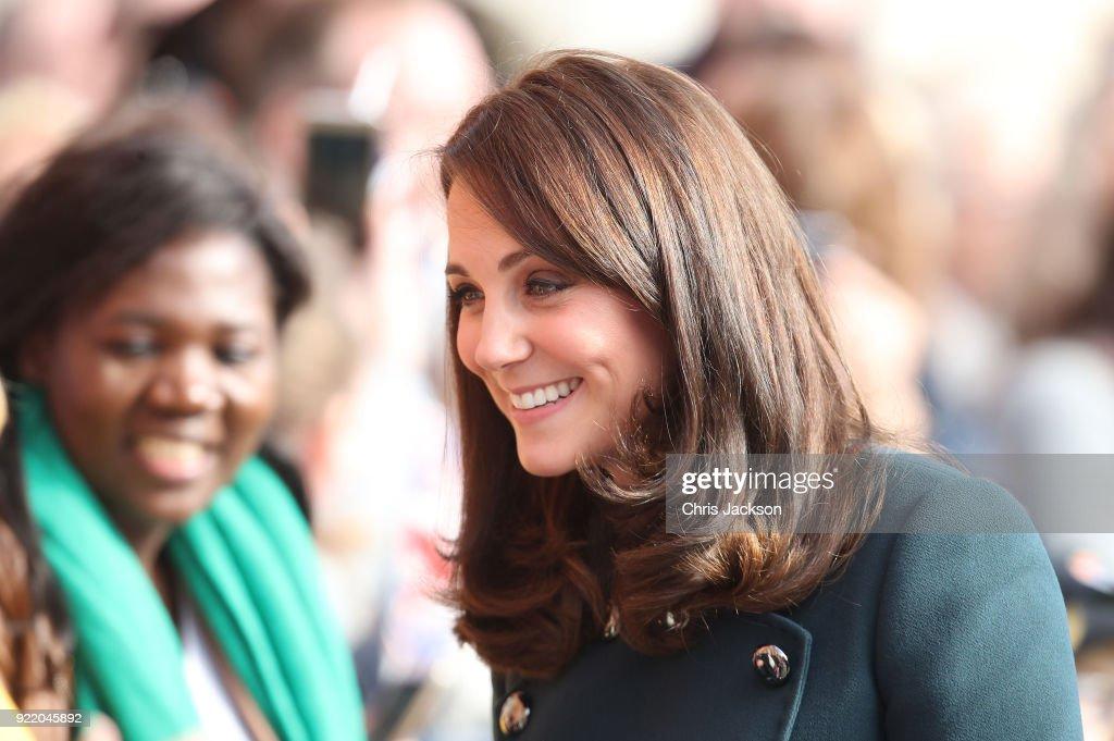 The Duke And Duchess of Cambridge Visit Sunderland
