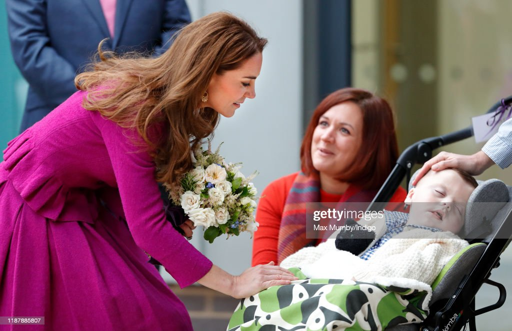 The Duchess Of Cambridge Opens The Nook Children Hospice : News Photo