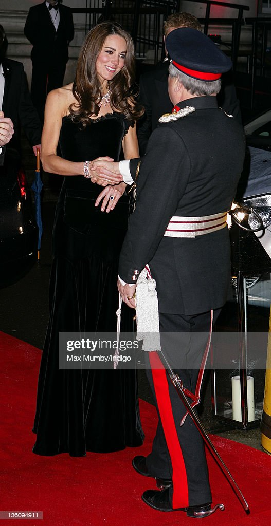 The Duke And Duchess of Cambridge Attend The Sun Military Awards 2011 : News Photo
