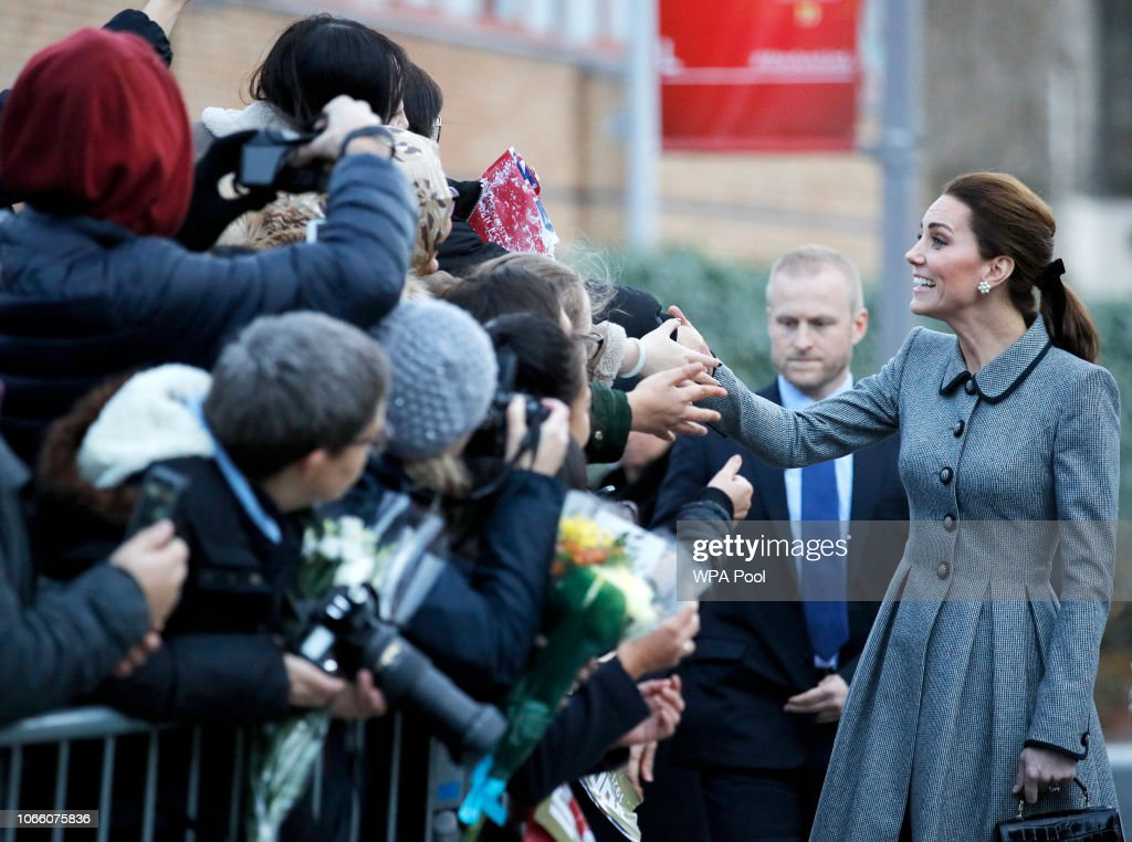 The Duke And Duchess Of Cambridge Visit Leicester : News Photo