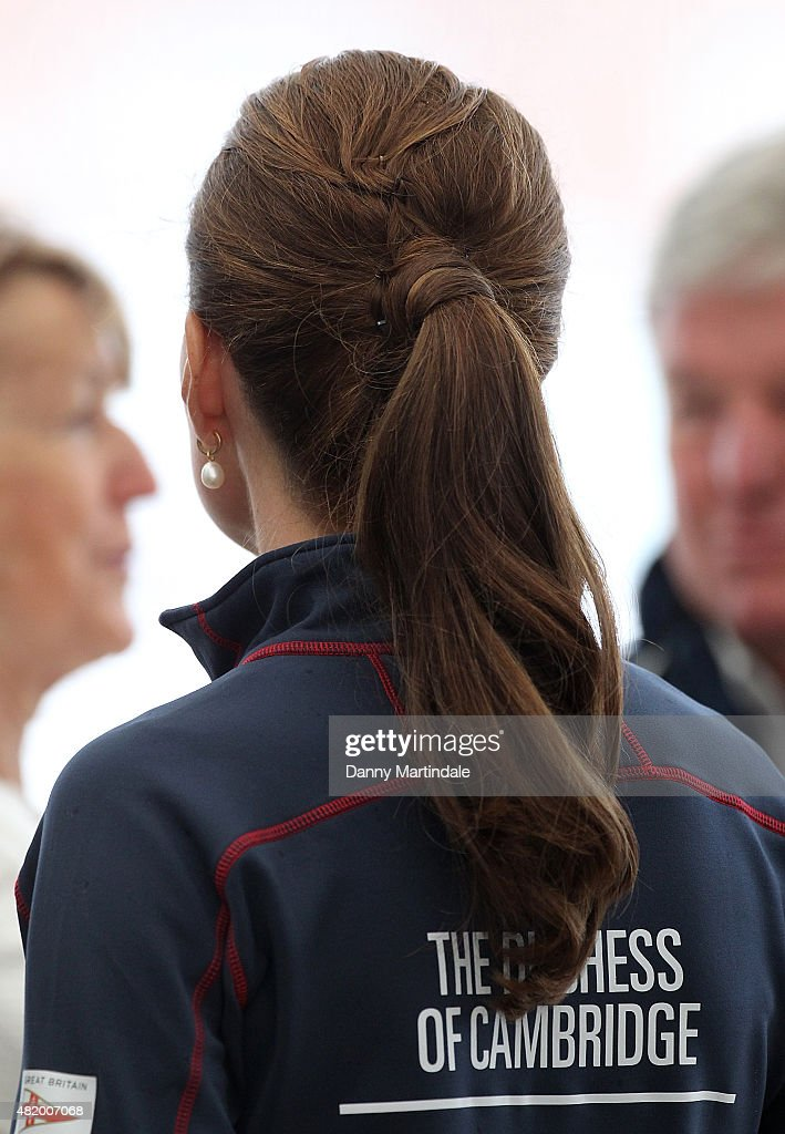 The Duke And Duchess Of Cambridge Attend The America's Cup World Series : News Photo