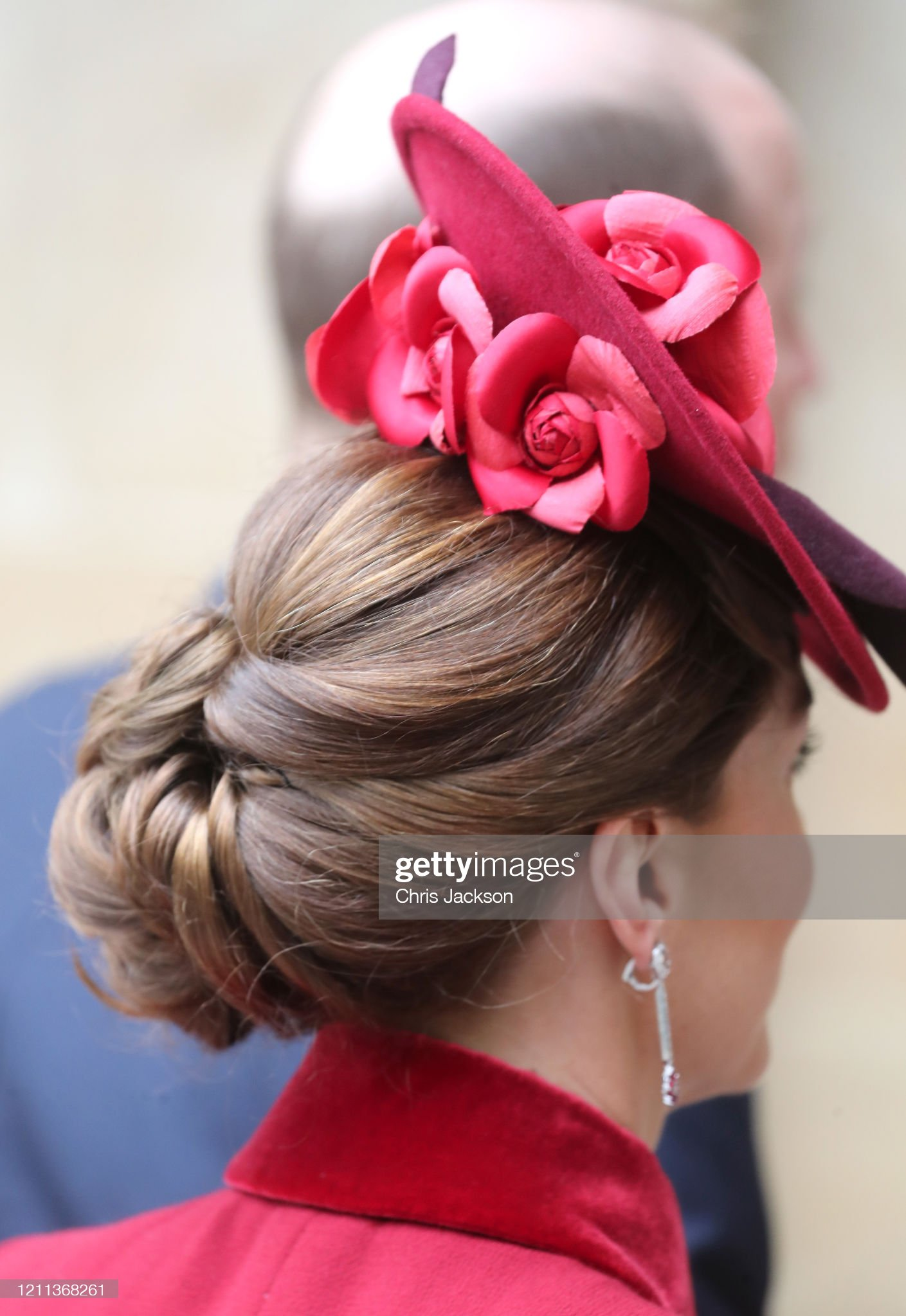 https://media.gettyimages.com/photos/catherine-duchess-of-cambridge-hat-detail-attend-the-commonwealth-day-picture-id1211368261?s=2048x2048