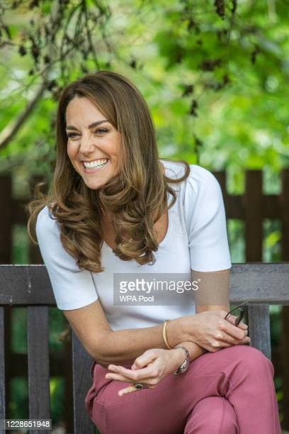 Catherine, Duchess of Cambridge hears from families and key organisations about the ways in which peer support can help boost parent wellbeing while...