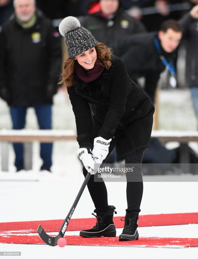 The Duke And Duchess Of Cambridge Visit Sweden And Norway - Day 1 : News Photo