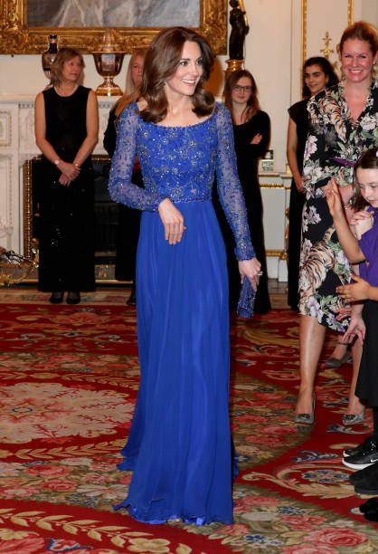 GBR: The Duchess Of Cambridge Hosts Gala Dinner For The 25th Anniversary Of Place2Be