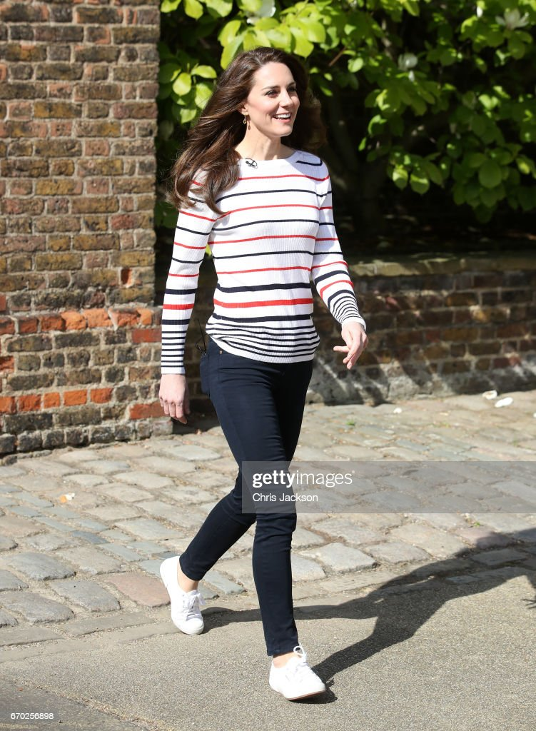 The Duchess Of Cambridge Hosts Team Heads Together Runners : News Photo