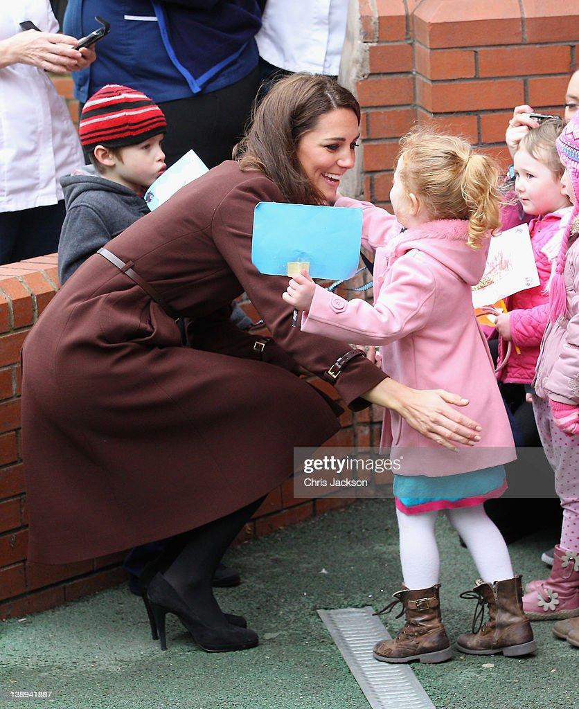 The Duchess Of Cambridge Visits Liverpool : News Photo